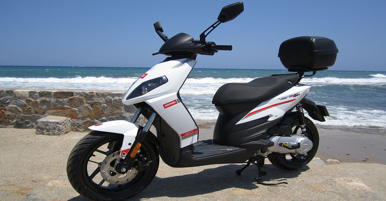 derbi variant 50cc welcome rent a bike in crete greece. Black Bedroom Furniture Sets. Home Design Ideas